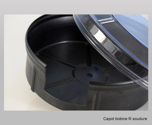 pièce technique capot bobine fil soudure